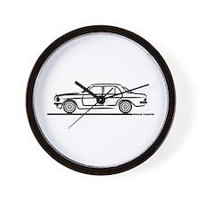 Mercedes 200 230 240 300 Type 123 Wall Clock
