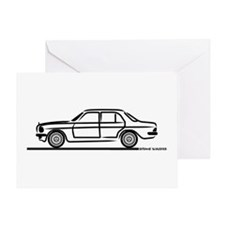 Mercedes 200 230 240 300 Type 123 Greeting Card