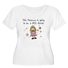 Princess Future Big Sister T-Shirt