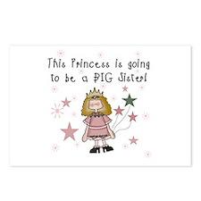 Princess Future Big Sister Postcards (Package of 8