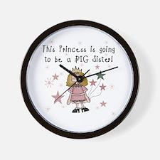 Princess Future Big Sister Wall Clock