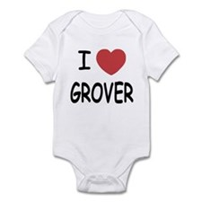I heart Grover Infant Bodysuit