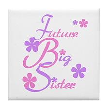 Future Big Sister Tile Coaster
