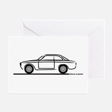 1966 Alfa GTA GTV Greeting Card