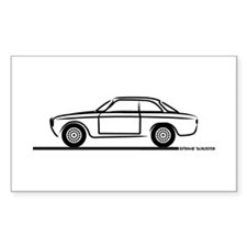 1966 Alfa GTA GTV Bumper Stickers