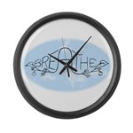 Breathe Large Wall Clock