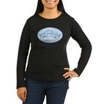 Breathe Women's Long Sleeve Dark T-Shirt