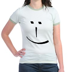 Modern Smiley Face T