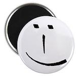 Modern Smiley Face Magnet
