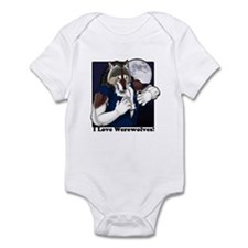 I love werewolves II Infant Bodysuit