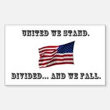 """""""United We Stand"""" Decal"""