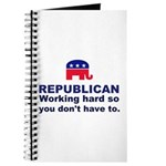 Republican Working Hard Journal