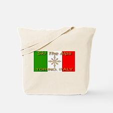 Ski The Alps Torino Italy Tote Bag