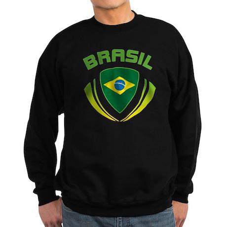 Soccer Crest BRASIL Sweatshirt (dark)