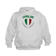 Soccer Crest ITALIA Hoodie