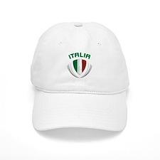 Soccer Crest ITALIA Baseball Cap