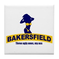 Bakersfield: Three Ugly Ones? Tile Coaster