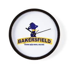 Bakersfield: Three Ugly Ones? Wall Clock