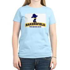Bakersfield: Three Ugly Ones? Women's Pink T-Shirt