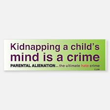 Parental Alienation Bumpersticker