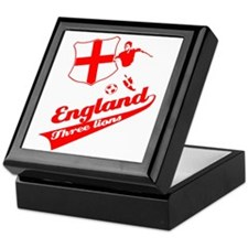 English soccer Keepsake Box