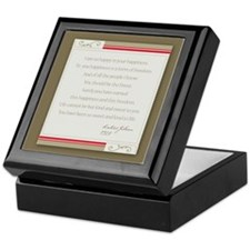 Kahlil Gibran Happiness Keepsake Box