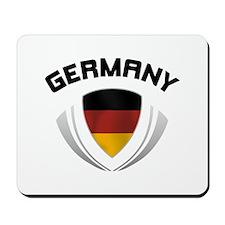 Soccer Crest GERMANY Mousepad