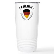 Soccer Crest GERMANY Travel Mug