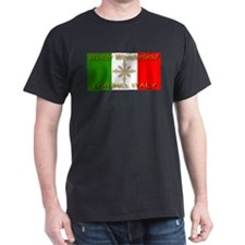 Winter Wonderland Torino Ital Black T-Shirt