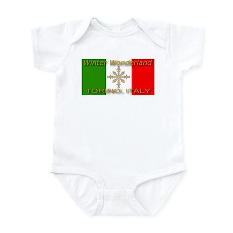 Winter Wonderland Torino Ital Infant Creeper