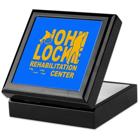 John Locke Rehab Center Keepsake Box