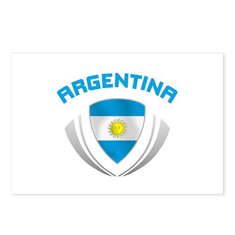 Soccer Crest ARGENTINA Postcards (Package of 8)