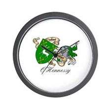 O'Hennessy Family Crest / Arm Wall Clock