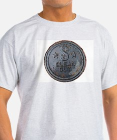 Sewer Cover Ash Grey T-Shirt