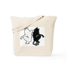 Angel or Devil Tote Bag