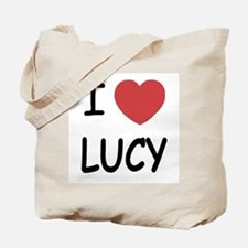 I heart Lucy Tote Bag