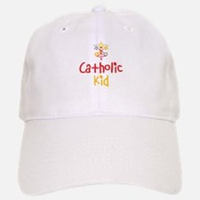 Catholic Kid Baseball Baseball Cap