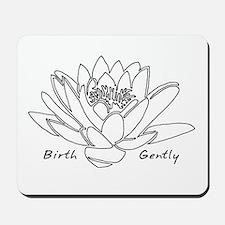 Lotus Birth Mousepad