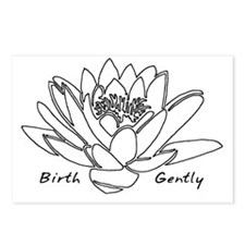Lotus Birth Postcards (Package of 8)