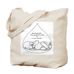 Waterbirth Tote Bag
