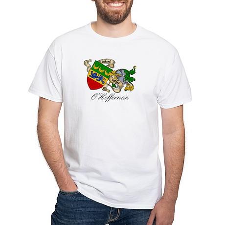 O'Heffernan Family Crest White T-Shirt