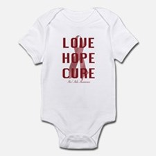 Hiv/Aids Awareness (lhc) Infant Bodysuit