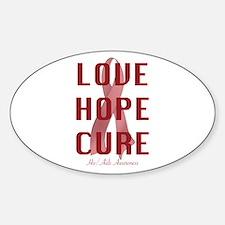 Hiv/Aids Awareness (lhc) Decal