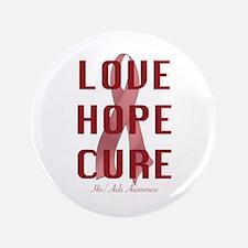 "Hiv/Aids Awareness (lhc) 3.5"" Button"
