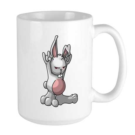 Rock Bunny Large Mug