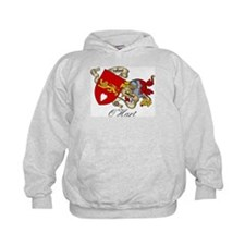 O'Hart Family Crest Hoodie
