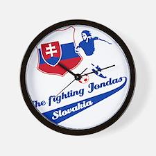 Slovakian soccer Wall Clock