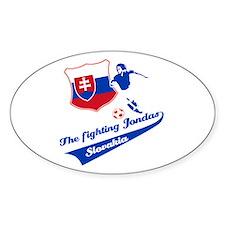 Slovakian soccer Decal
