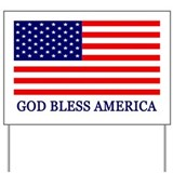 God bless america yard sign Yard Signs