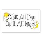 QuiltDayNight2 Sticker